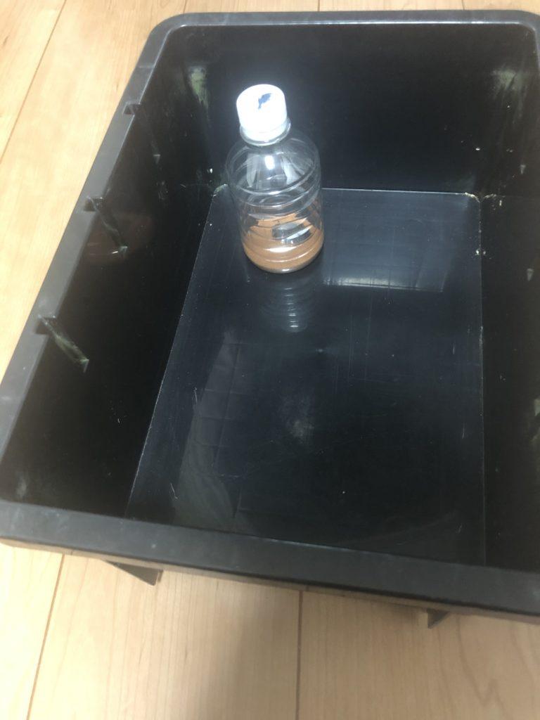 NVボックスをメダカ飼育容器にする