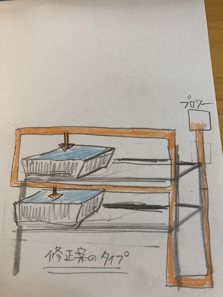 エアレーションの作り方(設計図)