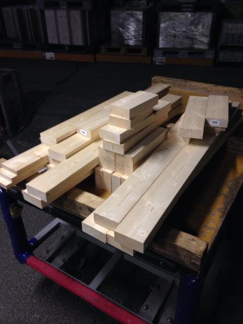 120cm水槽の台(棚)構造