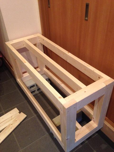 120cm水槽の台(棚)