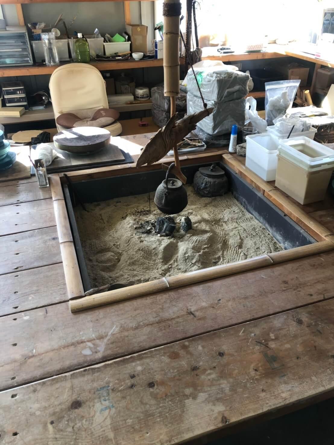 メダカ村と龍聖工房の陶芸作品