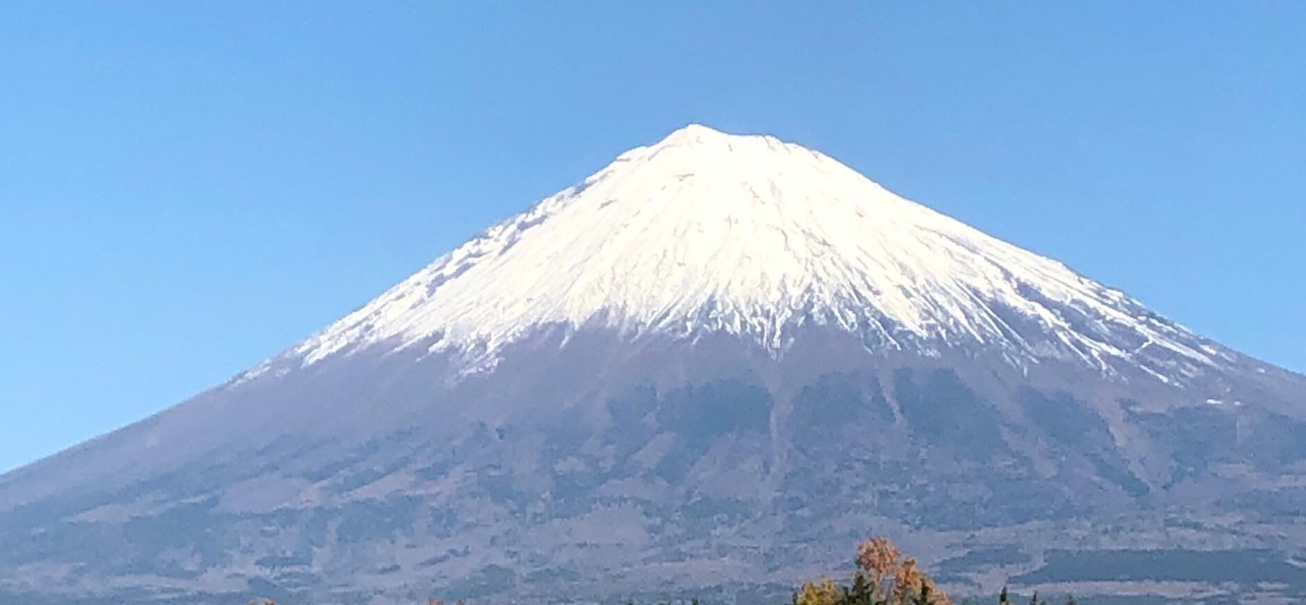 富士山とフジアクアグリーンへのメダカツアー