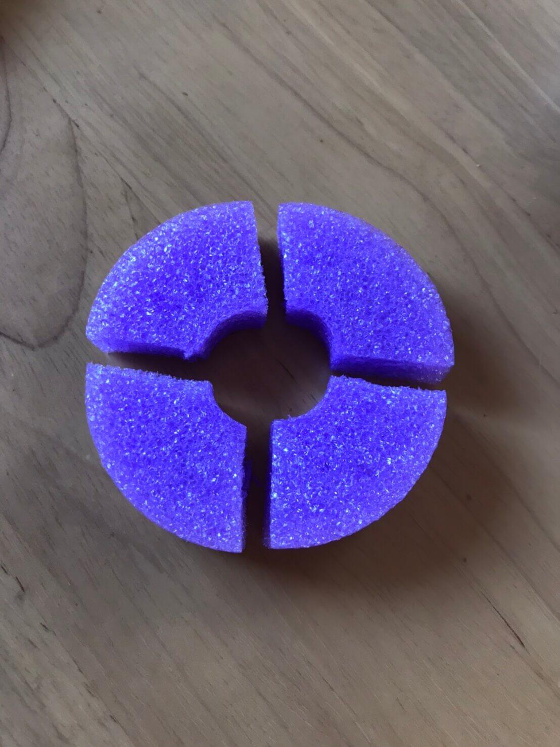 メダカの産卵床の作り方(ころたまボール)