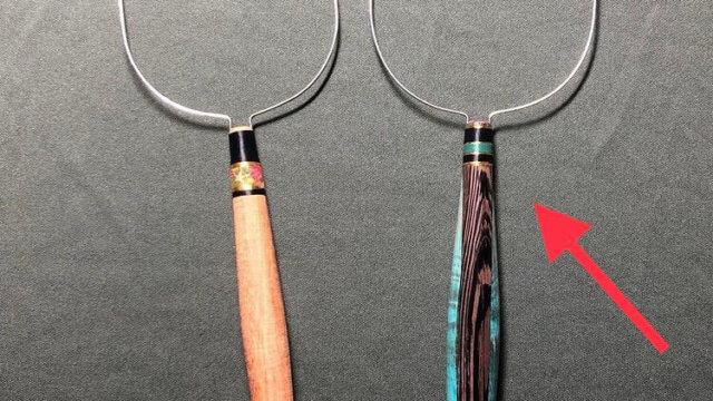 西山さんの作るタモ網