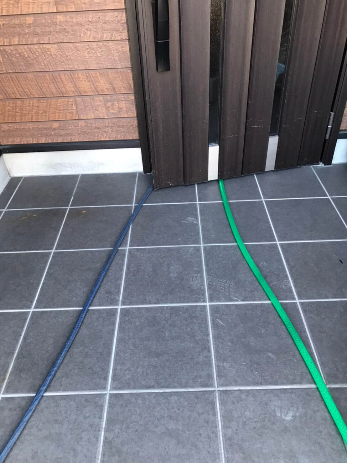 120cm水槽の掃除