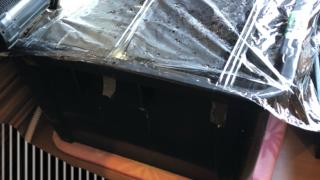 メダカ容器の加温