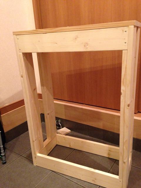 水槽台を製作する