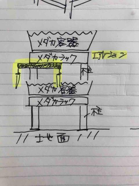 エアレーション設備の図面
